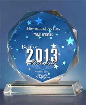 Hawaiian Joe Travel 2013 Award)